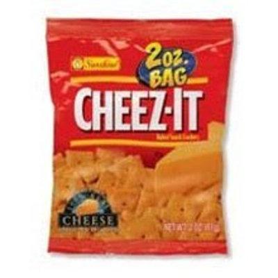 Kellogg's Cheez-It Original Baked Snack Crackers - 2 oz. bag, 60 per case