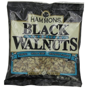 Hammons Recipe Ready Black Walnuts, 8-Ounce Bag