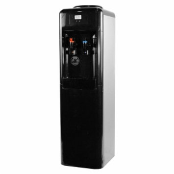 Aquverse A6000 Commercial-grade Top-load Water Dispenser, Black and Stainless Steel, 1 ea