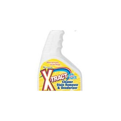 SynergyLabs X-Tract Pet Stain Remover Spray, 32 Ounce