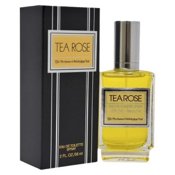 Tea Rose Ecom Perfumers Workshop 2 floz Romantic Eau De Toilette