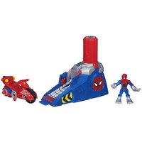 Hasbro Playskool Heroes Spider Man Adventures Action Figure Racing Spider Man Launcher - HASBRO, INC.