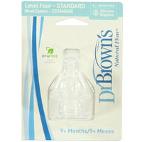Dr. Brown's 2 Pack Natural Flow Level 4 Standard Nipple