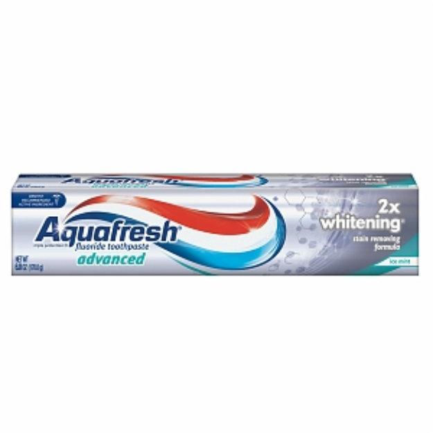 Aquafresh Advanced 2X Whitening Fluoride Toothpaste ...