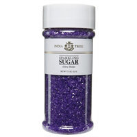 India Tree Ultra Violet Sparkling Sugar, 7.5 oz (Pack of 3)