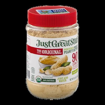 Just Great Stuff Powdered Organic Peanut Butter The Original