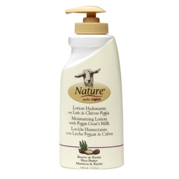Nature by Canus Moisturizing Lotion with Fresh Goat's Milk, Shea Butter, 11.8 oz