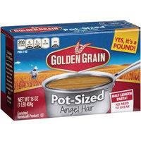 Generic Golden Grain Pot-SizedAngel Hair Pasta, 16 oz