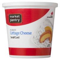 market pantry Market Pantry Small Curd 4% Milkfat Minimum Cottage Cheese 24-oz.