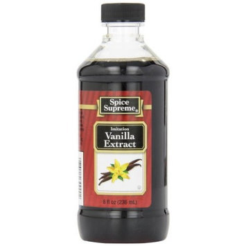 Spice Supreme Vanilla Extract, Imitation, 8-Ounce (Pack of 24)