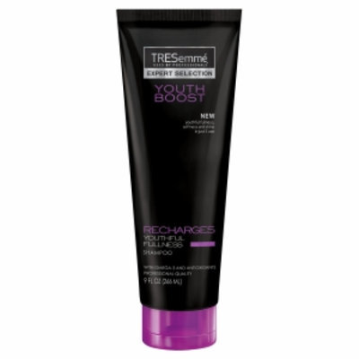 TRESemmé Expert Selection Youth Boost Recharges Youthful Fullness Shampoo
