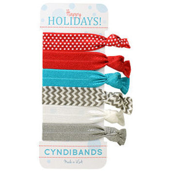Cyndibands CyndiBands Holiday Gift Card with 6 Hair Ties, Aneira, 1 ea