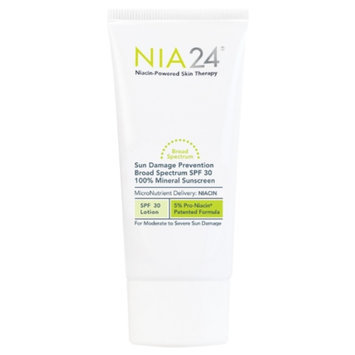 NIA24 Sun Damage Prevention 100% Mineral Sunscreen, SPF 30