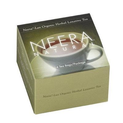 Neera Natural Neera Lax Organic Herbal Laxative Tea