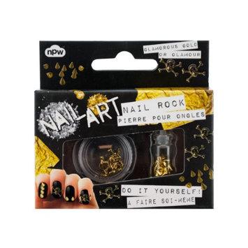 Kole Imports Bulk Buys Skulls And Studs Do It Yourself Nail Art Kit 24 Pack