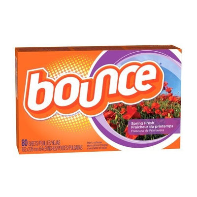 Bounce Dryer Sheets-Spring Fresh-80 count