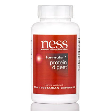 Ness Enzyme's Protein Digest #1 500 caps by Ness Enzymes