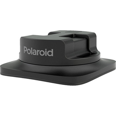 Polaroid Cube Helmet Camera and Camcorder Mounts - Black (POLC3HM)