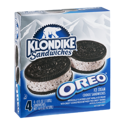 Klondike Oreo Ice Cream Sandwiches