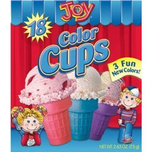 amazoncom joy cone 24count ice cream cups 35oz 2 pack - 521×513