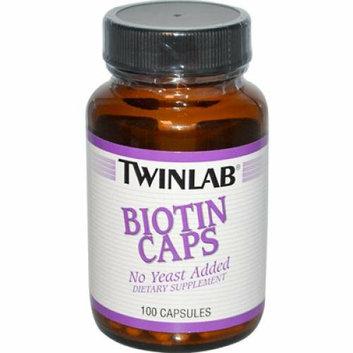 Twinlab Biotin Caps 600 mcg 100 Capsules