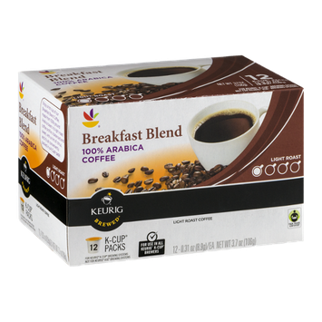 Ahold Breakfast Blend 100% Arabica Coffee Light Roast K-Cup Packs