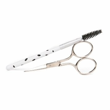 Denco Beautiful Brows - Brow Scissors & Spoolie Brush