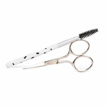 Denco Beautiful Brows - Brow Scissors & Spoolie Brush