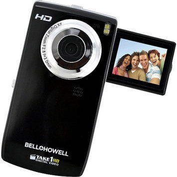 Bell & Howell BELL+HOWELL Black TAKE-1 HD Flip Camcorder