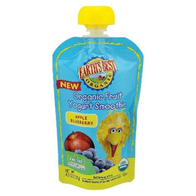 Earth's Best Organic Fruit Yogurt Smoothie - Apple Blueberry 4.2oz