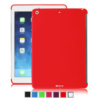 Fintie SoftGel TPU Back Case Smart Cover Partner for Apple iPad Air (iPad 5 5th Generation), Red