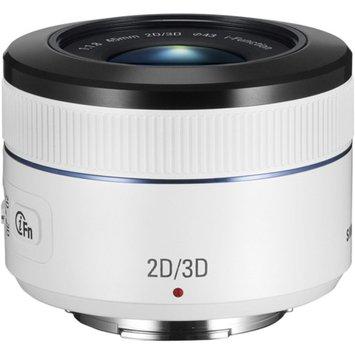 Samsung NX 45mm f1.8 2D/3D Lens, White