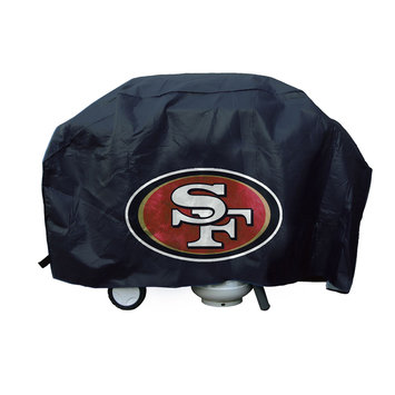 Caseys 9474633843 San Francisco 49ers Deluxe Grill Cover