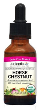 Horse Chestnut 1 Oz with Alcohol by Eclectic Institute Inc