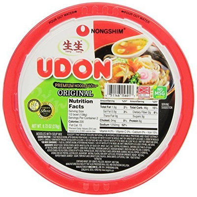Nong Shim Nongshim Udon Noodle Bowl, 9.73 Ounce Bowls (Pack of 6)