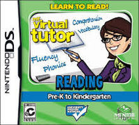 1st Playable Productions My Virtual Tutor Reading: Pre K-K