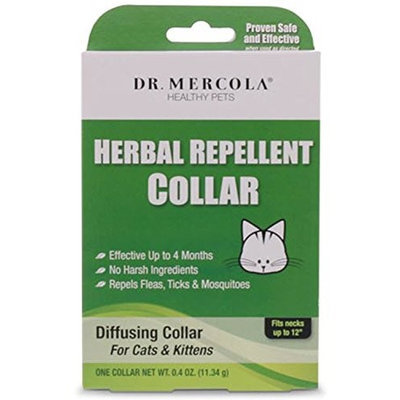 Dr Mercola Herbal Repellent Collar - Cats & Kittens