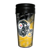 Icup Inc. ICUP Pittsburgh Steelers NFL 16 oz Travel Mug