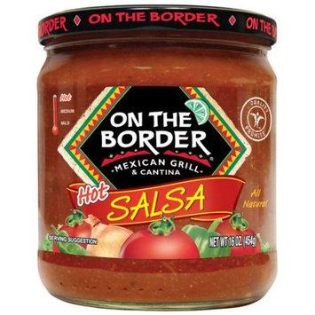 Truco Enterprises On The Border Mexican Grill & Cantina Hot Salsa, 16 oz