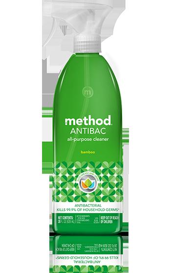 method antibacterial all-purpose cleaner bamboo