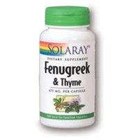 Solaray Fenugreek & Thyme - 100 Capsules - Other Herbs