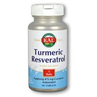 Kal Turmeric Resveratrol - 30 Tablets
