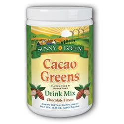 Sunny Green - Cacao Greens Drink Mix Chocolate Flavor - 9.9 oz.
