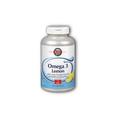 Kal Omega-3 Lemon - 120 Softgels