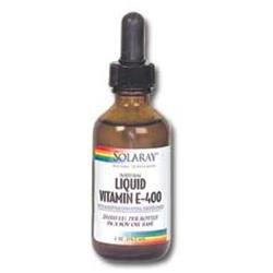 Solaray Vitamin E Liquid - 400 IU - 2 fl oz