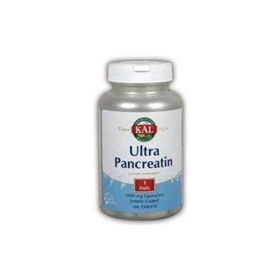 KAL Ultra Pancreatin - 100 Tablets - Enzymes