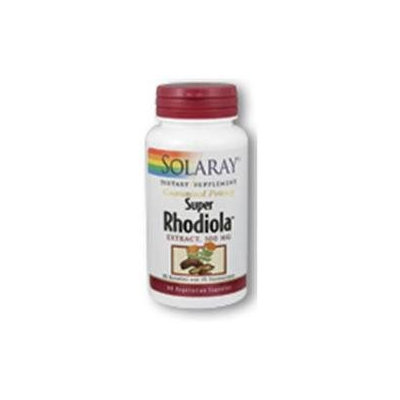 Solaray Super Rhodiola Extract - 500 mg - 60 Vegetarian Capsules