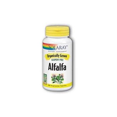 Solaray Organic Alfalfa - 100 Capsules - Other Green / Super Foods