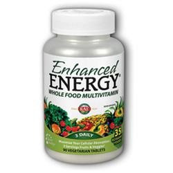 Kal Enhanced Energy Whole Food Multivitamin - 90 Vegetarian Tablets