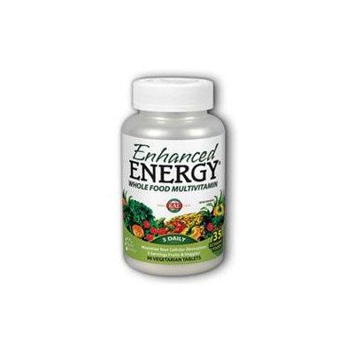 Kal Enhanced Energy Whole Food Multivitamin - 90 Vegetarian Tablets